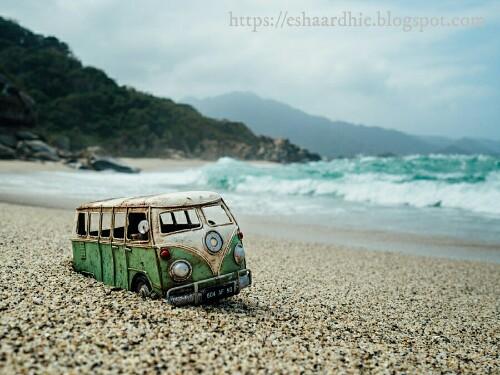 Minibus Di Pulau Tidung