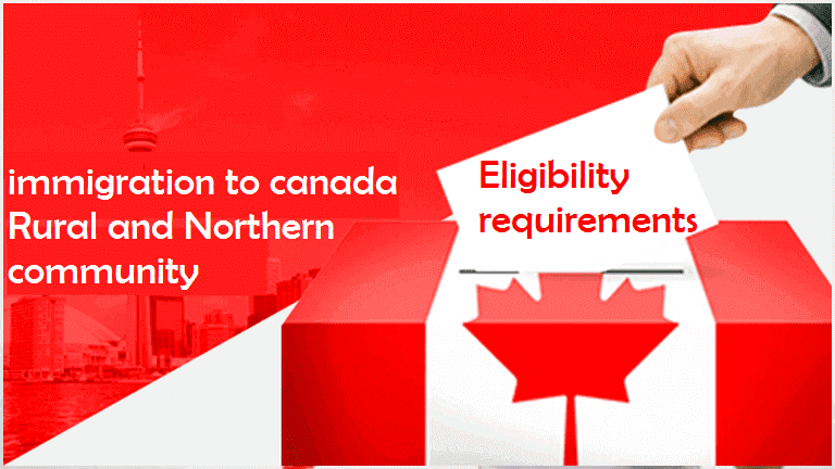 Eligibility requirements for immigration to canada Rural ...