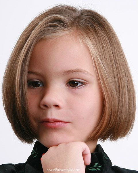 Haircut Of Girl Child: Children Hair Style