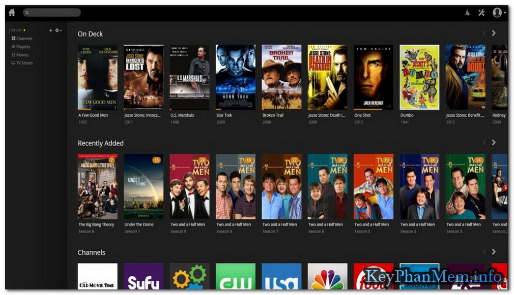 Download Plex Media Server 1.12.3.4973 Final Full Key, Phần mềm xây dựng rạp phim tại nhà và Stream Video