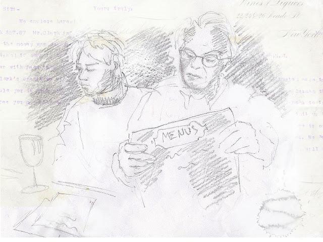Pencil Sketch gesture