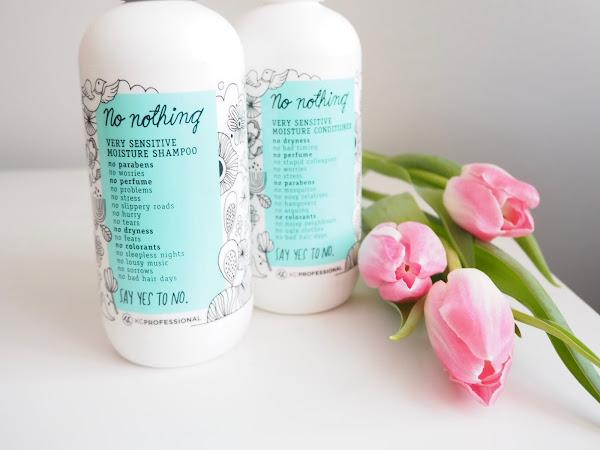 KC No Nothing -kosteuttava shampoo + rasvaiset hiukset = LIT! 💜