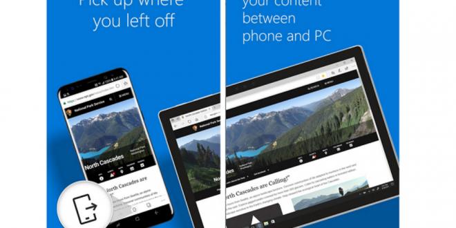 متصفح مايكروسوفت ايدج على متجر بلاي يحصل على مزايا جديدة