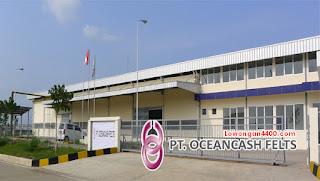 Lowongan Kerja PT. Oceancash Felts Cikarang