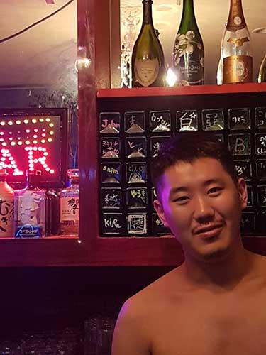 Gay like a King in Osaka.