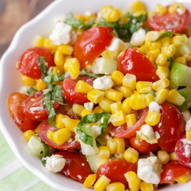 Summer Corn Salad #healthy #salad