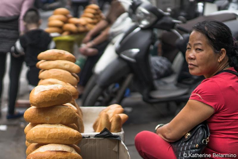 Bánh Mì Bread Traditional Vietnamese Food