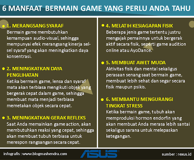 6 Manfaat Bermain Game - Blog Mas Hendra