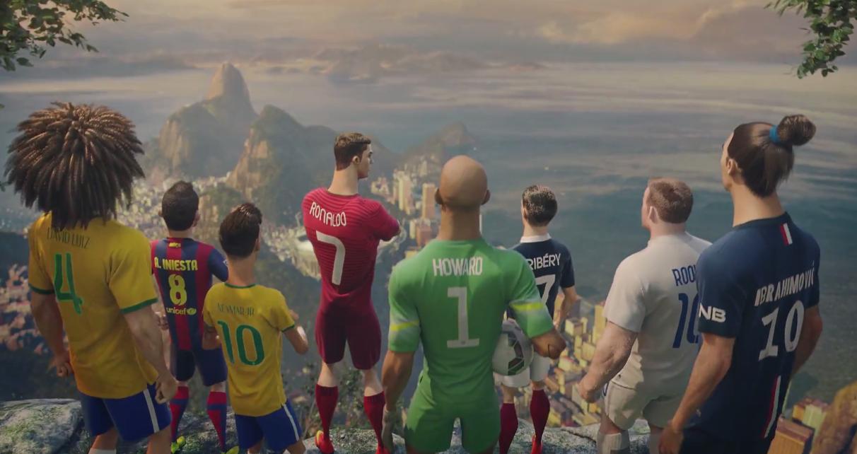 labirinto Socialismo Incorporare  Video pubblicità Nike con Ronaldo, Ribery, Ibrahimovic, Neymar, Iniesta,  Rooney, Howard, David Luiz