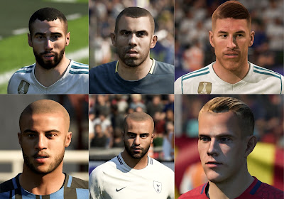 FIFA 18 Facepack v3 by KeProFIFA