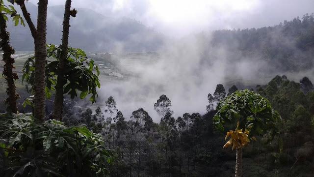 Kawah Sileri di Dataran Tinggi Dieng. Foto : Twitter. Polres Banjarnegara.