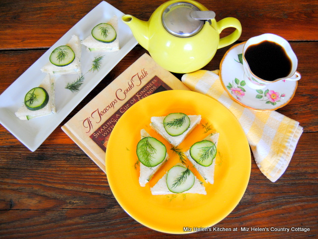 Tuesday Tea Time With Cucumber Tea Sandwiches