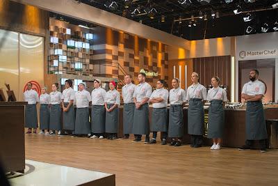 Competidores entram pela primeira vez na cozinha do MasterChef - Divulgação/Band