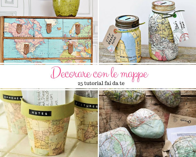 Decorare con le mappe