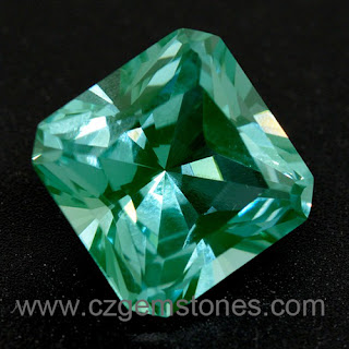 square green spinel gemstones