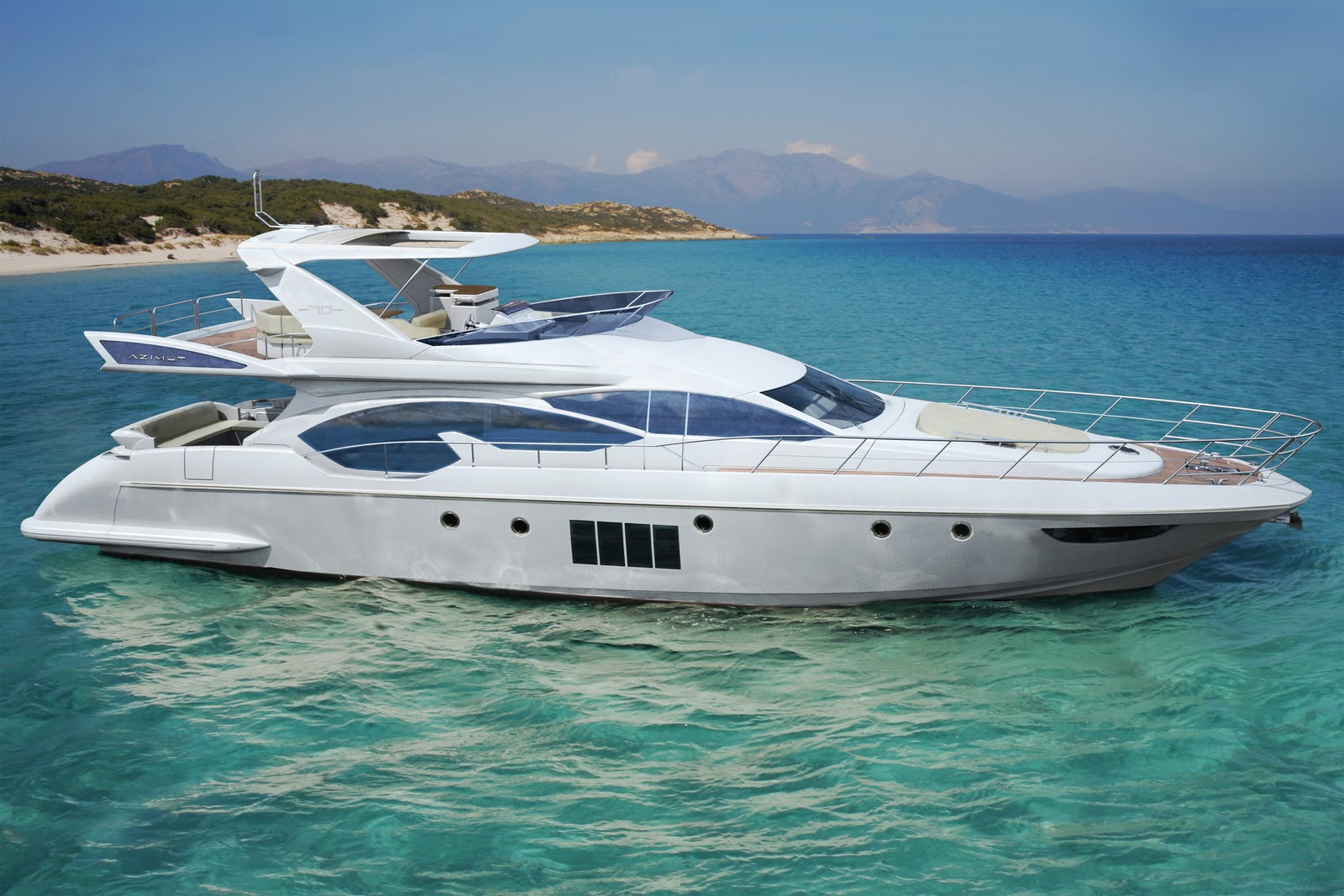 Luxury Yachts - Bellisima