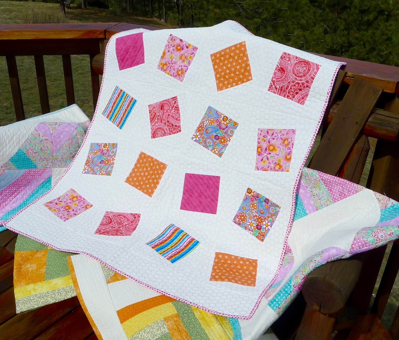 Quilt Knit Stitch 2017 : Emptyknitsters Never Ending Knitting: A quilt full of memories
