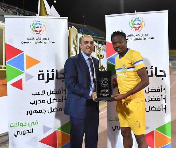 Ahmed Musa wins Player of the Week in Saudi Arabia