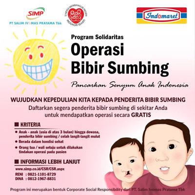 Program Solidaritas Operasi Bibir Sumbing