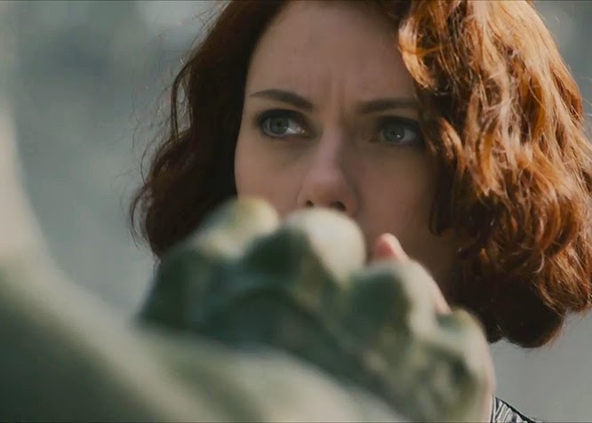Black Widow Hulk Avengers Age of Ultron
