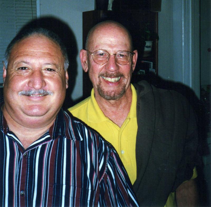 Albert Marsh and Johnnathan Korver with big smiles
