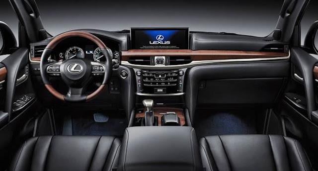 2017 Lexus LX 570 Redesign