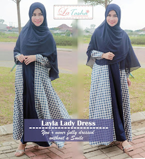 Gamis Latasha Layla Lady Dress