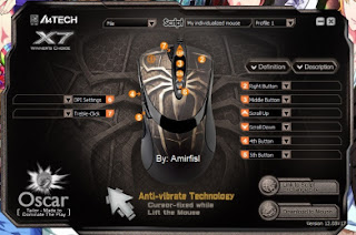 Cara Setting Mouse Macro X7  www.amirfisl.com 