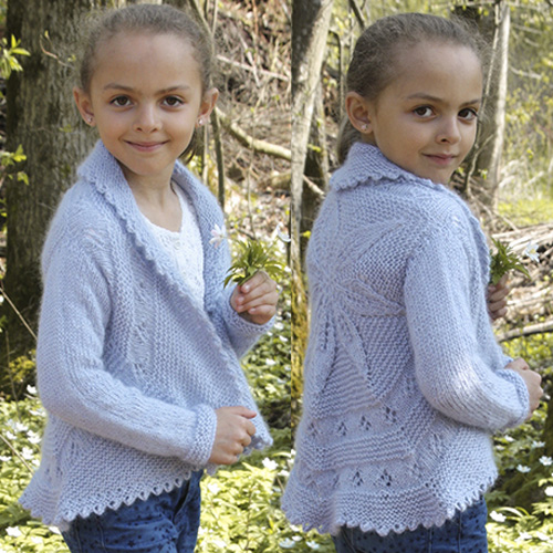 Alvina Girls Jacket - Free Pattern