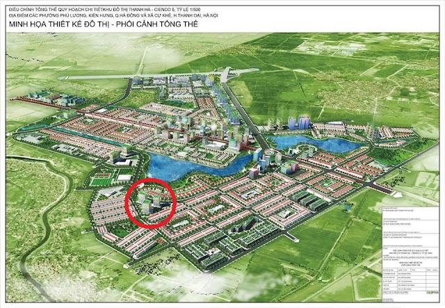 Phối Cảnh Tổng Thể Dự Án Khu Đô Thị Thanh Hà Cienco 5
