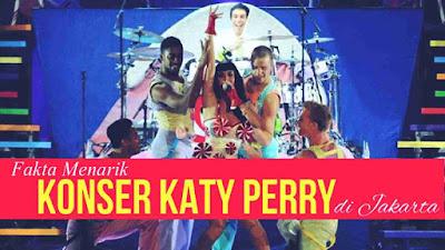 Cara Mendapatkan Tiket Gratis Konser Katy Perry di Jakarta