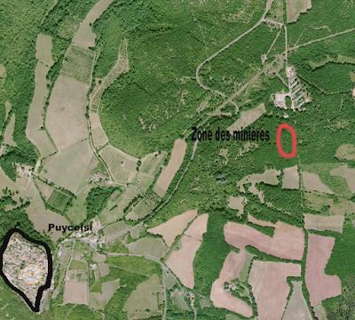 Un vrai champ de mines à Puycelsi