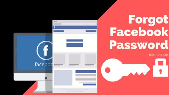 Forgot Facebook Password<br/>