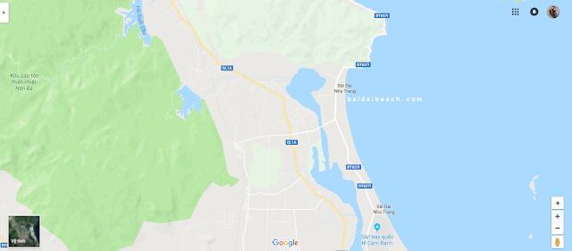 Vị thế đắc địa của biển Bãi Dài Nha Trang