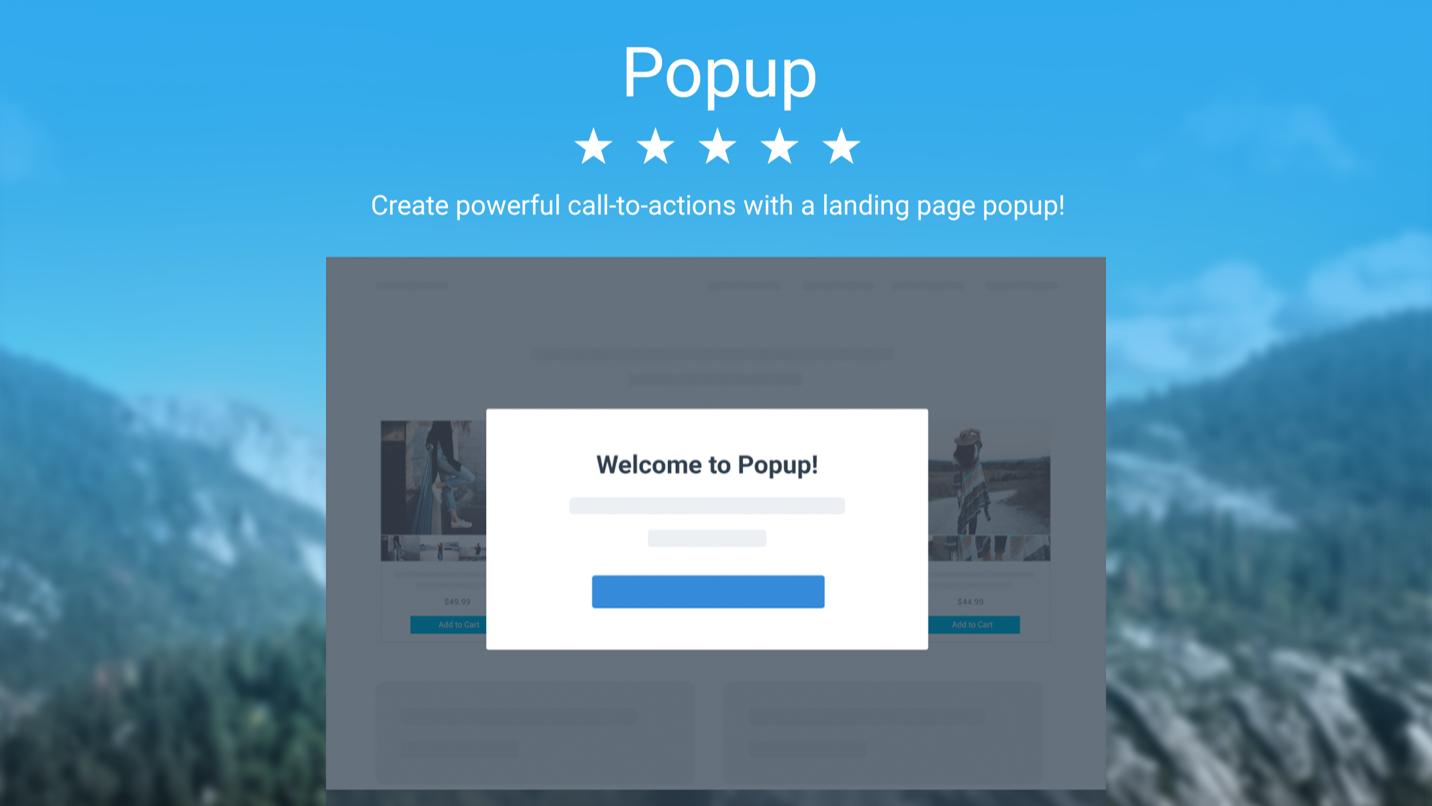 Tạo popup thông báo khi vào trang