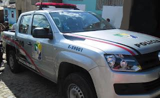Polícia Militar cumpre mandado de prisão em Malhador