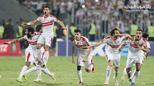 الزمالك يفشل فى تخطي حرس الحدود لتنتهي المباراة بالتعادل في الدوري المصري