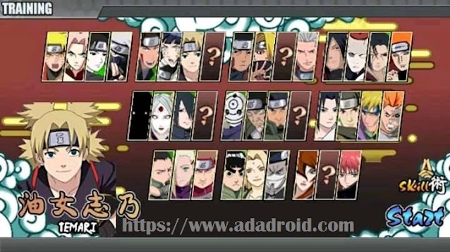 Download Naruto Senki Release Mod Apk