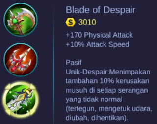 Build Item Terbaik Hero Karrie - Mobile Legends