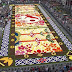 "Belgium Makes Enormous Flower ""Carpet"" Out of 600,000 Blooms To Celebrate 150 Years of Friendship With Japan"
