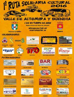 I Ruta Solidaria Valle de Altomira-Buendía
