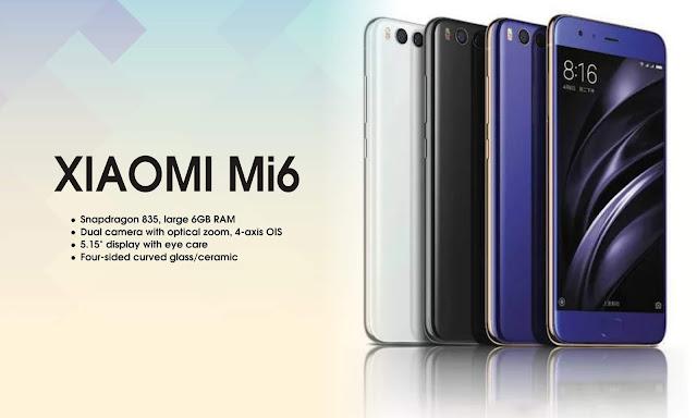 Spesifikasi, Review Dan Harga Terkini Xiaomi Mi 6.