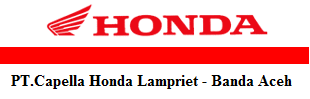 PT. Capella Honda Lampriet Banda Aceh