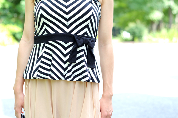 Chevron Top + Forever 21 Review