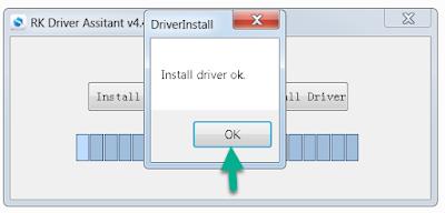 Finish Installing RockChip Driver