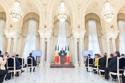 Klaus Iohannis, Románia, romániai kisebbségek, B'nai B'rith, podurile tolerantei