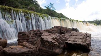 El Parque Nacional Canaima de Venezuela