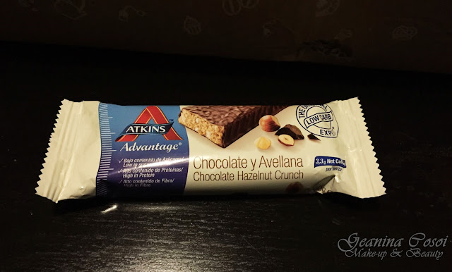 Barrita de chocolate Atkins Caja Mensual Degustabox - Enero 2017
