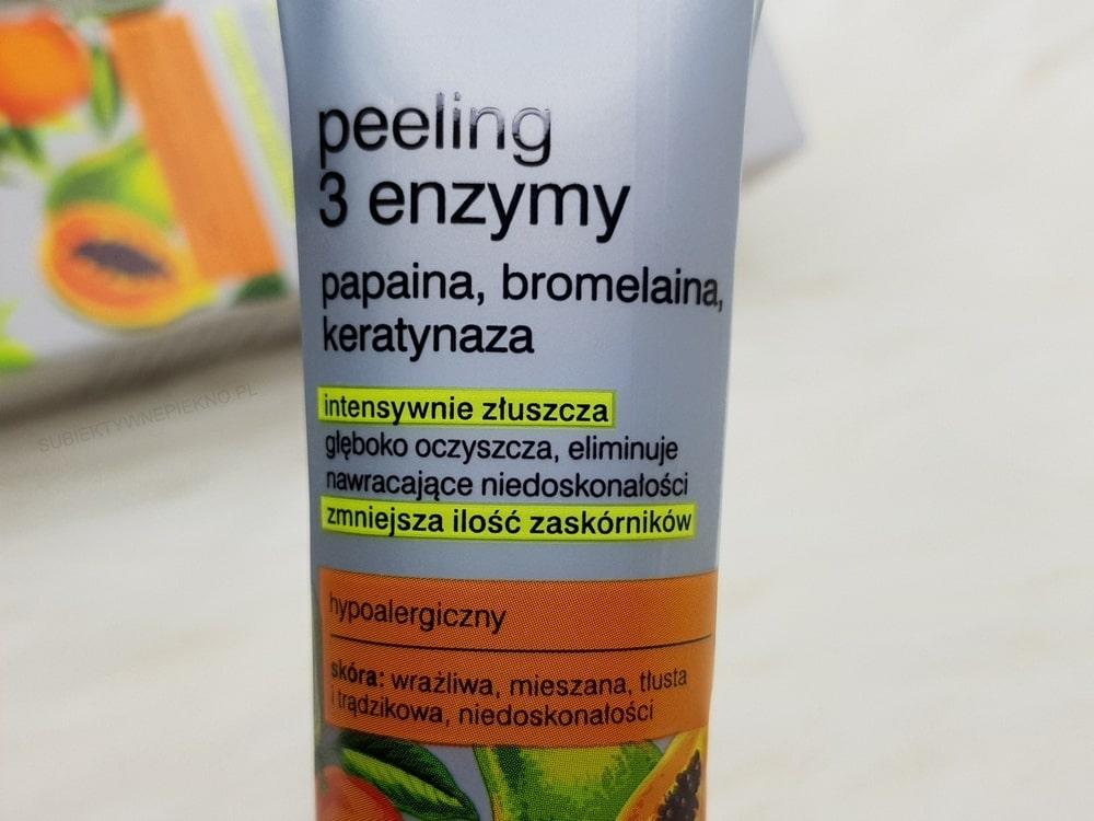 Peeling 3 enzymy Tołpa Dermo Face Sebio – recenzja
