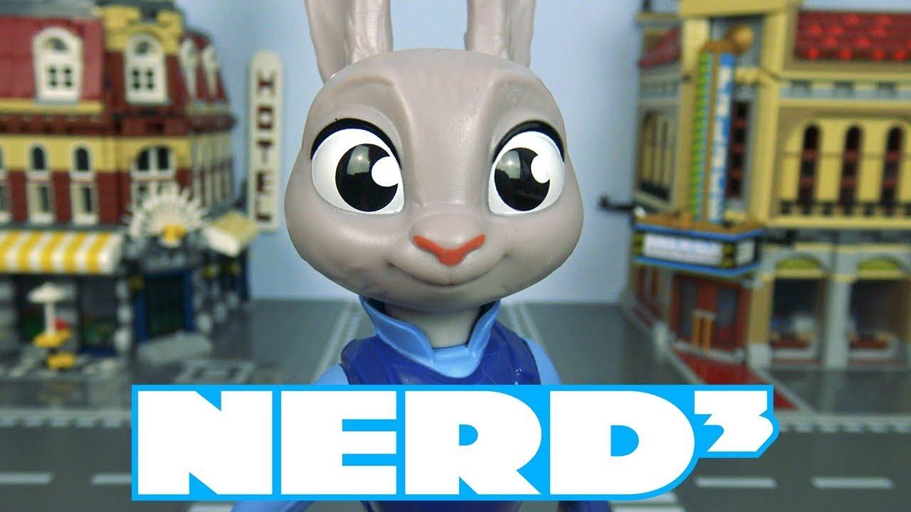 Nerd³ Toys, Unboxing a Judy Hopps Figurine!